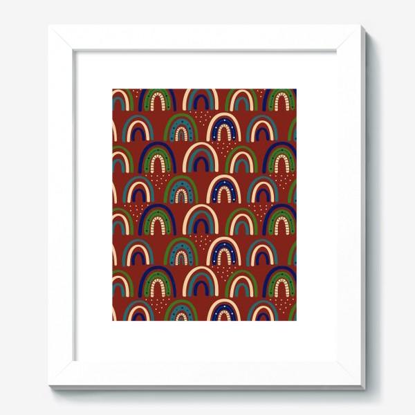 Картина «Богемная радуга. Ретро, винтаж.. Стиль хиппи »