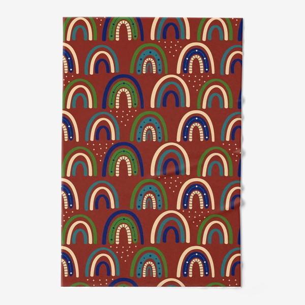 Полотенце «Богемная радуга. Ретро, винтаж.. Стиль хиппи »