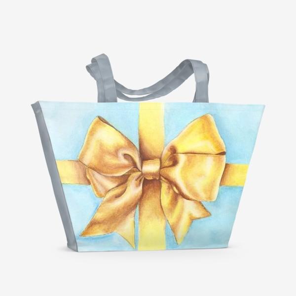 Пляжная сумка «Бант»