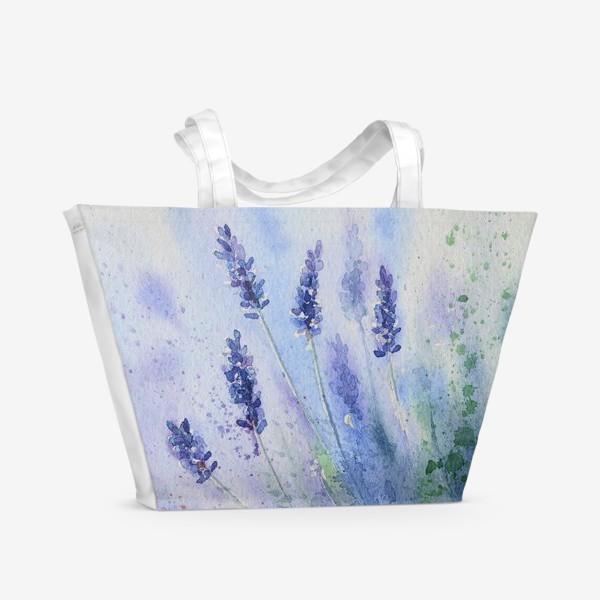 Пляжная сумка «Прованс. Лаванда»