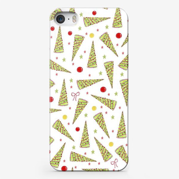 Чехол iPhone «Вкусные елочки»