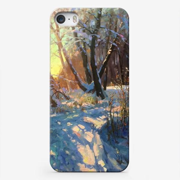 Чехол iPhone «Зимняя прогулка»