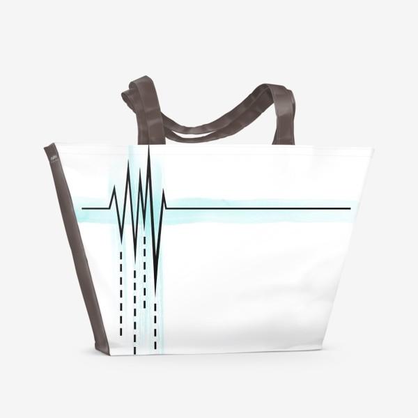 Пляжная сумка «Пульс»