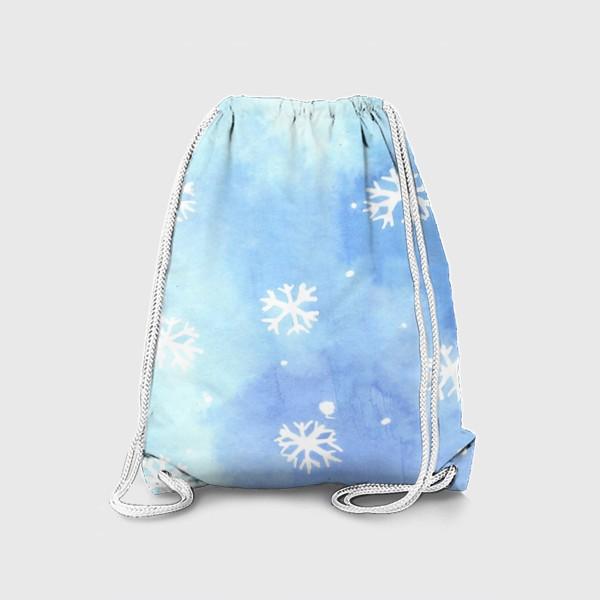 Рюкзак «снежный паттерн»