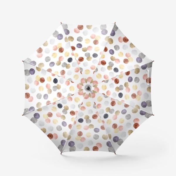 Зонт «Акварельные пятна. Пастельная палитра.»