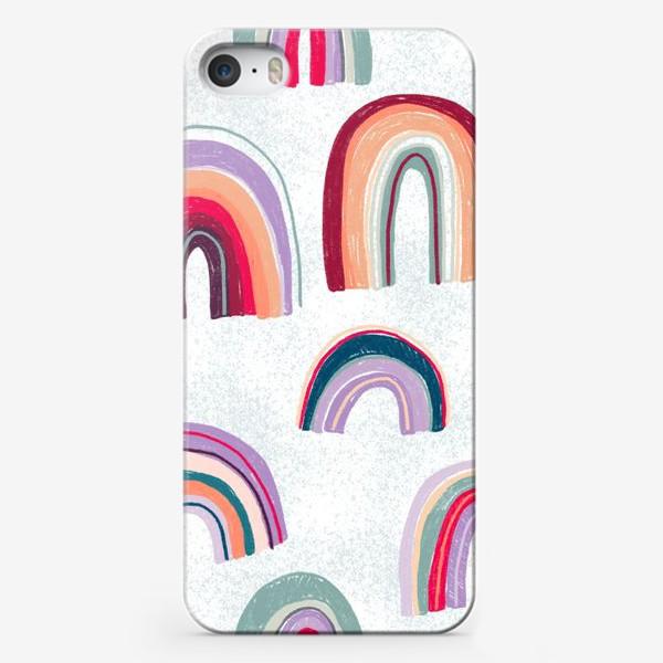 Чехол iPhone «Радужный узор»