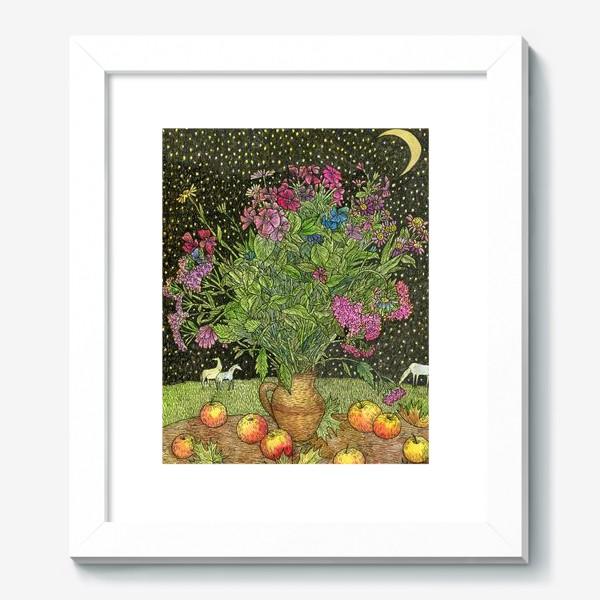 Картина «Цветочная сказка»