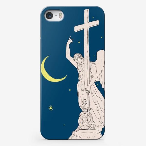 Чехол iPhone «Ангел над Санкт-Петербургом»