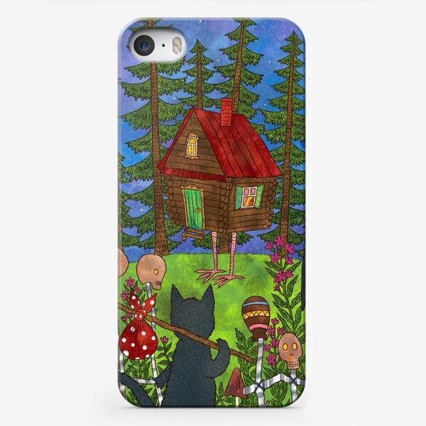 Чехол iPhone «В гости к Бабе Яге»