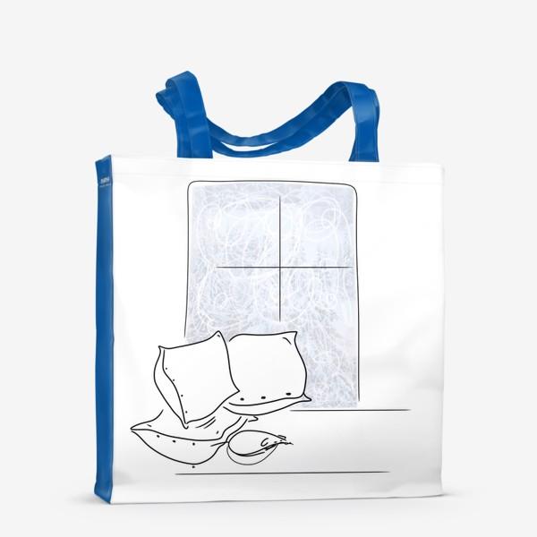 Сумка-шоппер «Мышка спит»
