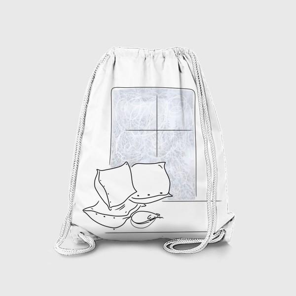 Рюкзак «Мышка спит»