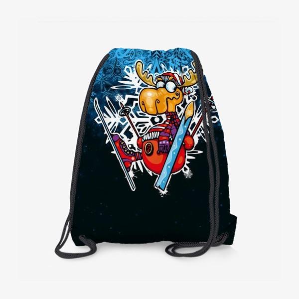 Рюкзак «Смешной олень»
