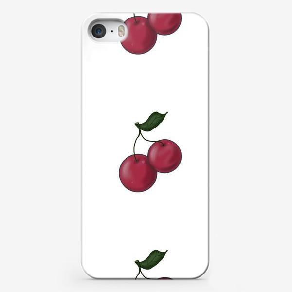 Чехол iPhone «Вишнёвое настроение »