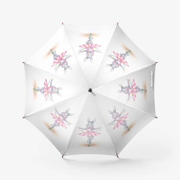 Зонт «Зайка-балерина»