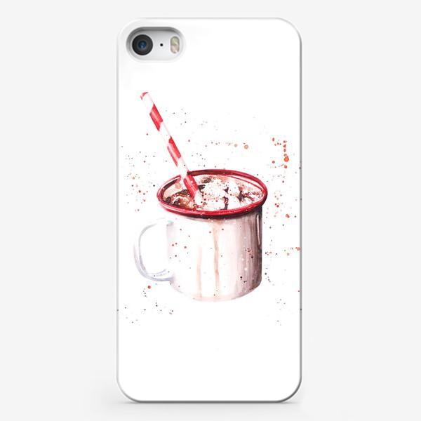 Чехол iPhone «Новогодняя кружка »