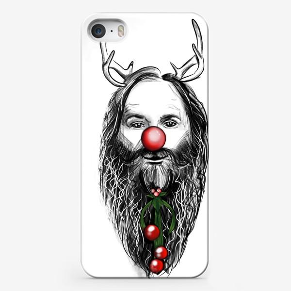Чехол iPhone «Юморной олень »