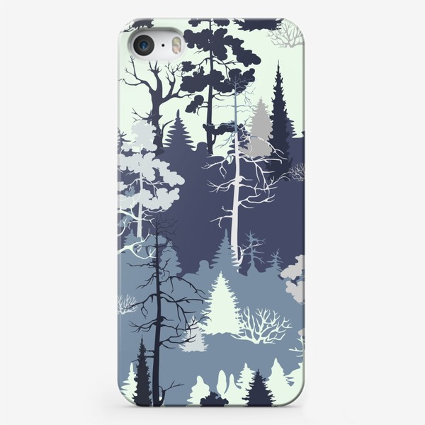 Чехол iPhone «Зимний лес»