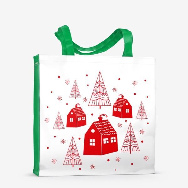 Сумка-шоппер «Зима. Новый год»