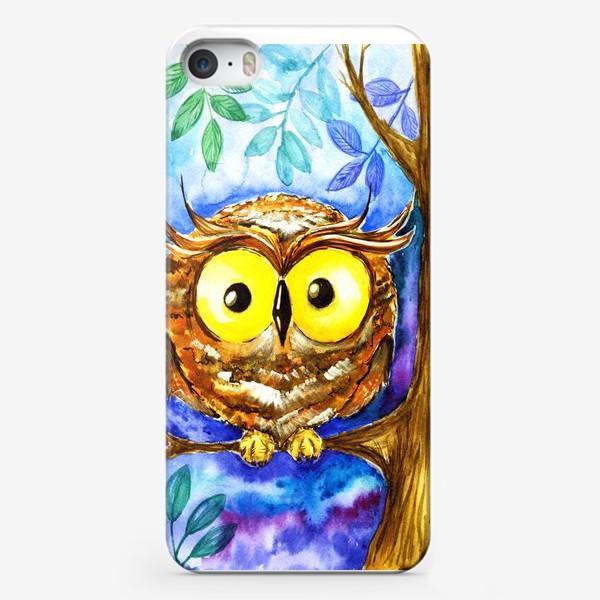 Чехол iPhone «Сова 3.»