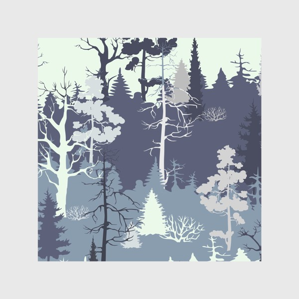 Скатерть «Зимний лес»