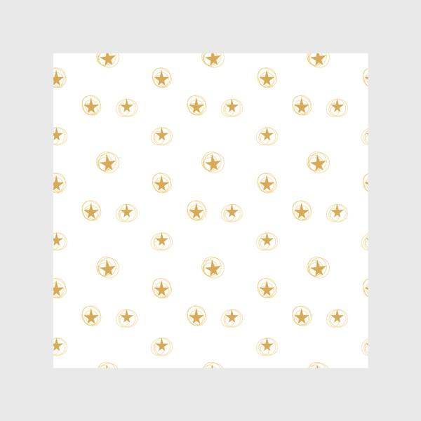 Скатерть «Золотые звездочки в космосе»