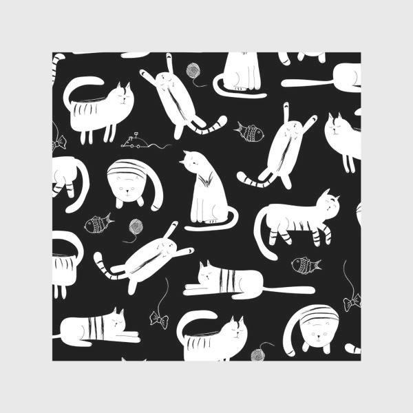 Скатерть «белые коты»