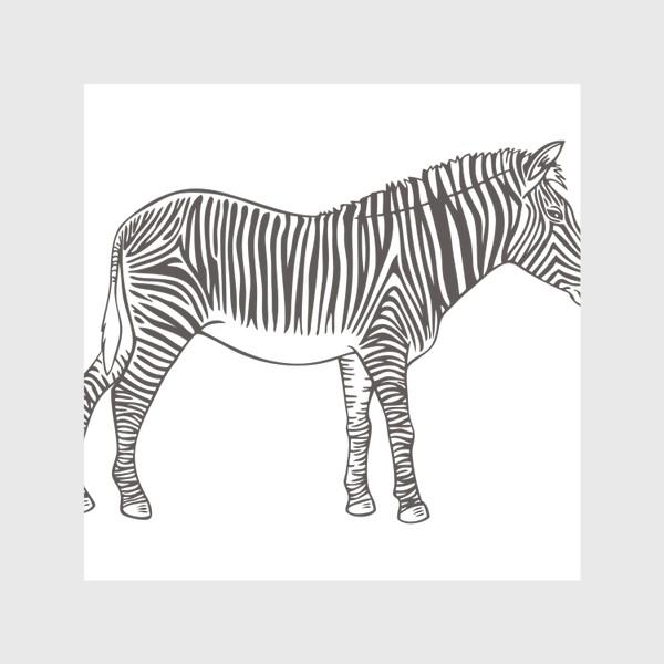 Скатерть «Графика зебра»
