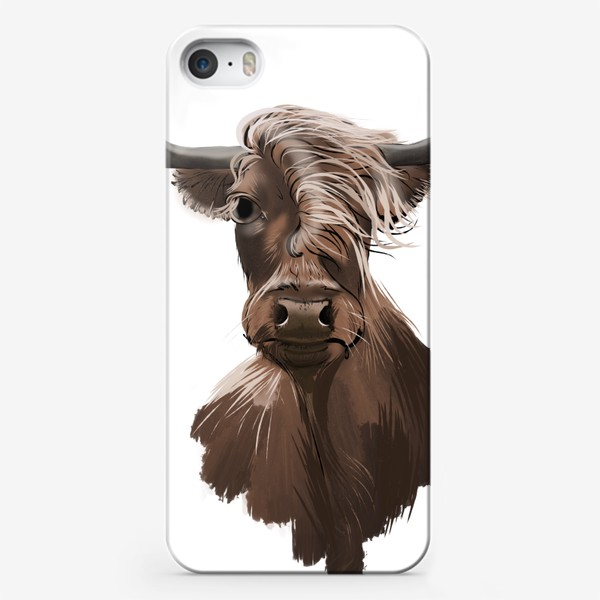 Чехол iPhone «2021 рогатый »