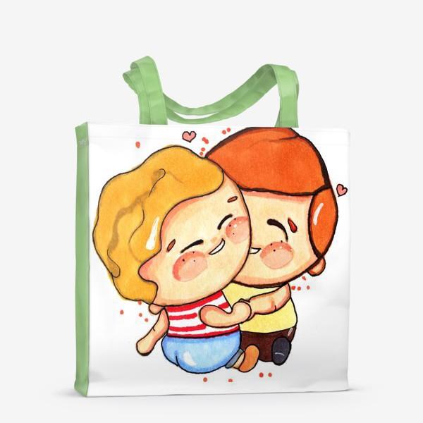 Сумка-шоппер «Люблю тебя »