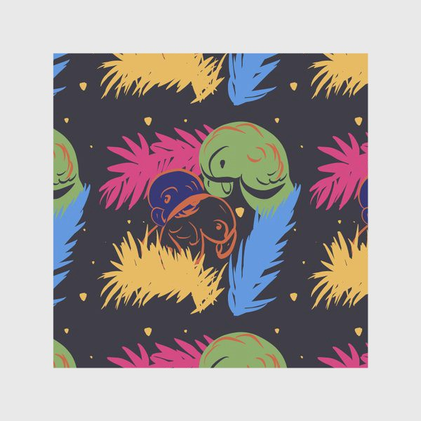 Скатерть «Тропические птицы»