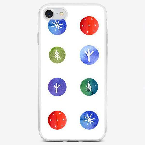 Чехол iPhone «Кусочки зимы»