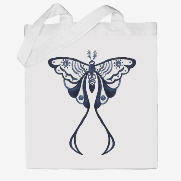 Сумка хб «бабочка»