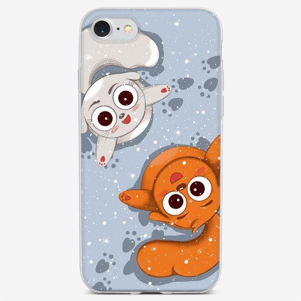Чехол iPhone «Снег»