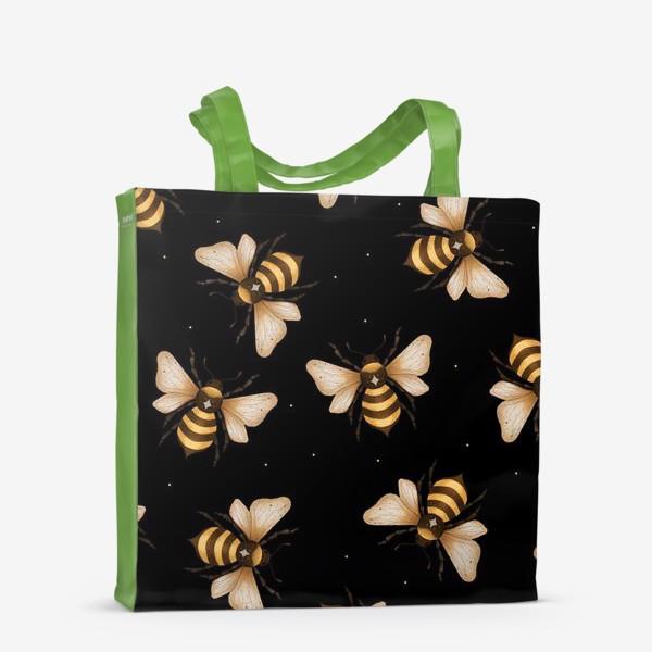 Сумка-шоппер «Wonder Bee - паттерн»