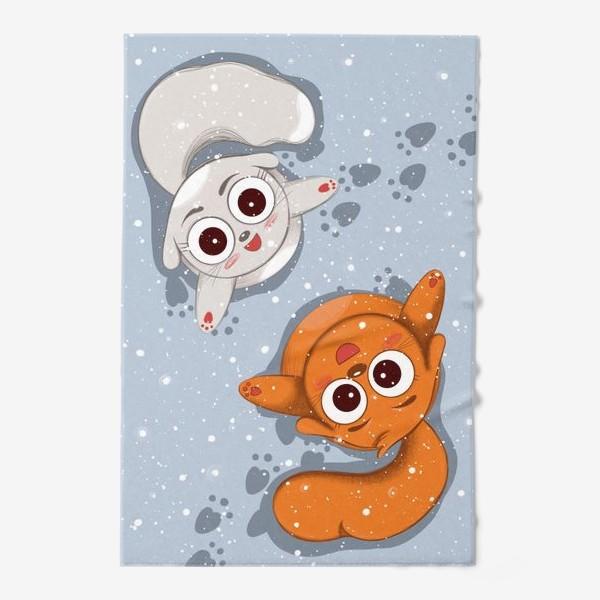 Полотенце «Снег»