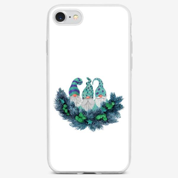 Чехол iPhone «Гномы»