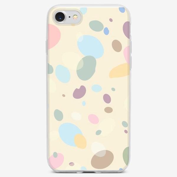 Чехол iPhone «пастельные пятна»
