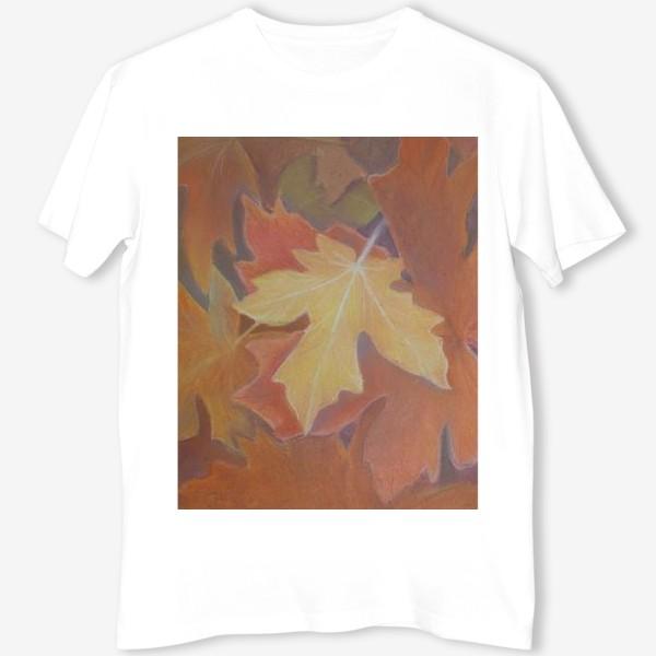 Футболка «Осенние листья»