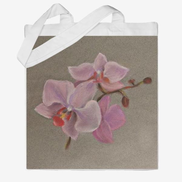 Сумка хб «Орхидея»