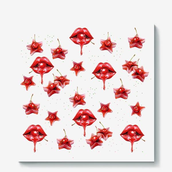 Холст «kisses»