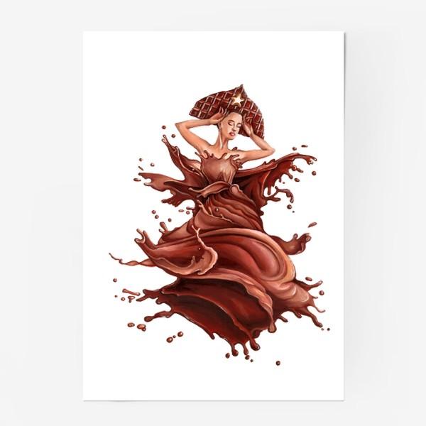 Постер «шоколад»