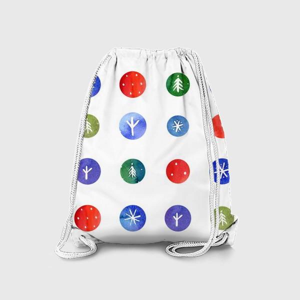 Рюкзак «Кусочки зимы»