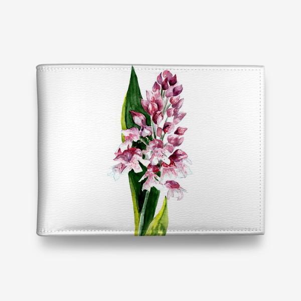 Кошелек «Цветы акварелью»