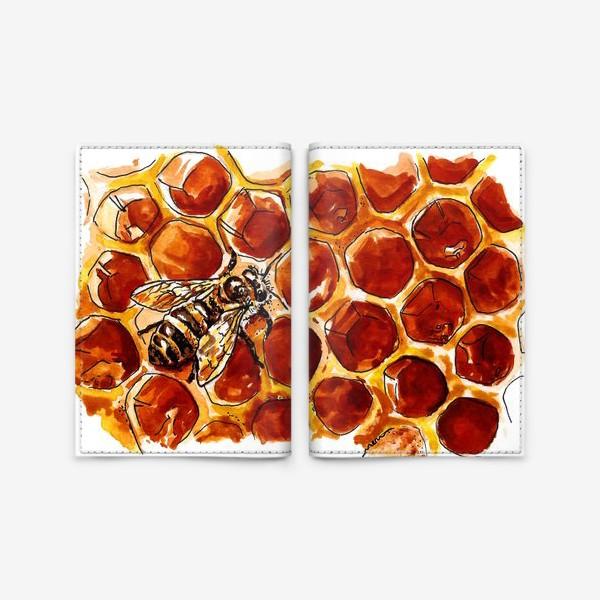 Обложка для паспорта «Honeybee»