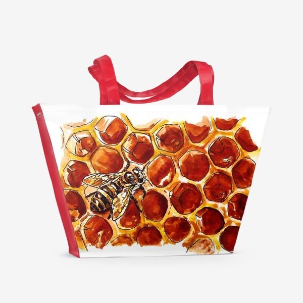 Пляжная сумка «Honeybee»