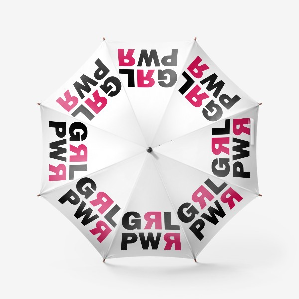 Зонт «Girl Power - Принт для сильных девушек»
