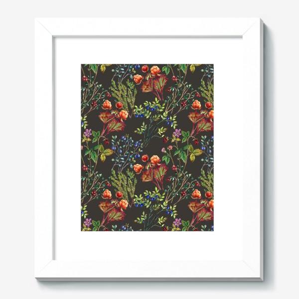 Картина «Паттерн Лесные ягоды»