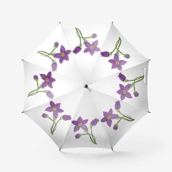 Зонт «Весенний цветок»