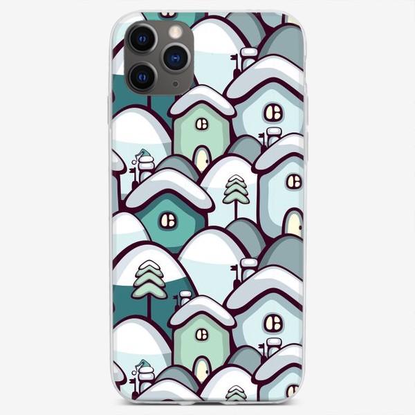 Чехол iPhone «Зима за Городом»