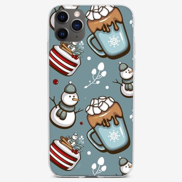 Чехол iPhone «Christmas Sweets»